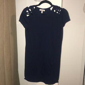 Women's Navy t-shirt dress